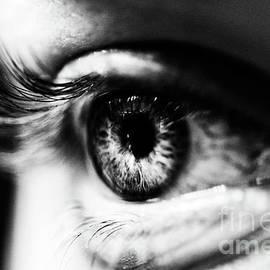Eye In Black And White by Toula Mavridou-Messer
