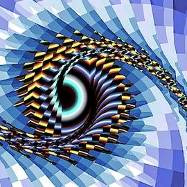 Eye Upon You Blue by Don Northup