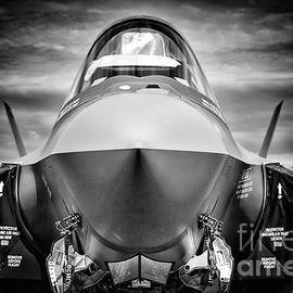 F-35 Ready for Deployment BW by Rene Triay Photography