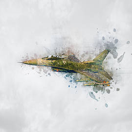 F16 Fighting Falcon by Ian Mitchell