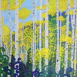Fall Aspens by Lisa Smith