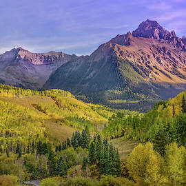 Fall Color In The San Juan Mountains by James Woody