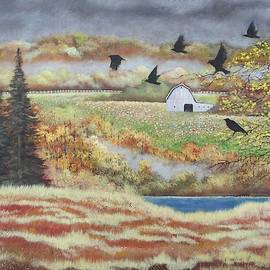 Fall Crows by Brian Mickey