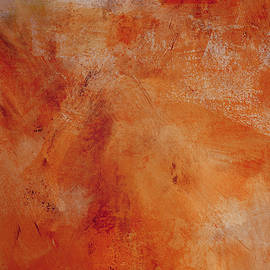 Fall Golden Hour- Abstract Art By Linda Woods by Linda Woods