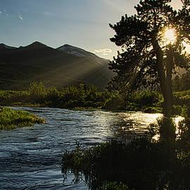 Fall River Sunset, Rocky Mountain National Park by Flying Z Photography by Zayne Diamond