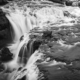 Falling Water On The Skoga River by James Udall