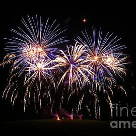 Falmouth Week Fireworks 2019 by Terri Waters