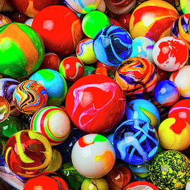 Fantastic Childhood Marbles by Garry Gay