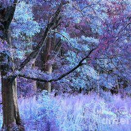 Fantasy Forest Lavender Periwinkle by Johari Smith