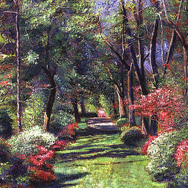 Fantasy Of Spring by David Lloyd Glover