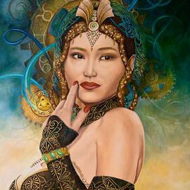 Fantasy woman by Olaf Plantener