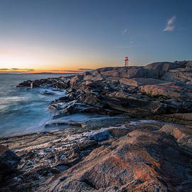 Far Side of Peggy's Cove, NS by Mike Organ