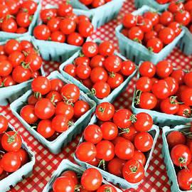 Farm Fresh Cherry Tomatoes by Edward Fielding