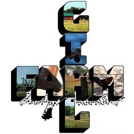 Farm Girl Big Letter 2 by Colleen Cornelius