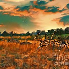 Farm Horses of Days Gone By by Christina Ford