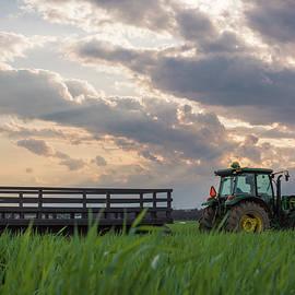 Farm Ride by Kristopher Schoenleber