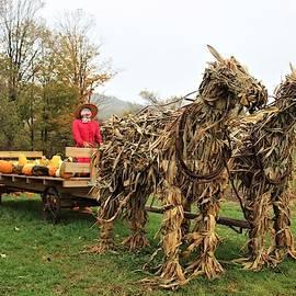 Farmhand Scarecrow by Carol McGrath