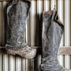 Farming Boots by Susan Candelario