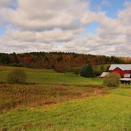 Farmland In Autumn by Angie Tirado