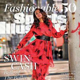 Fashionable 50 New York Liberty Forward Swin Cash Sports Illustrated Cover