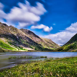 Fast Moving Clouds Over River Coe - Scotland by Stuart Litoff