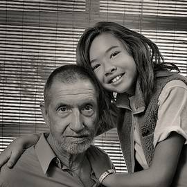 Father And Daughter by Ron Cline