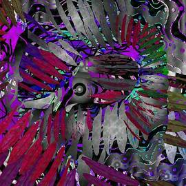 Feathers to Pluck Abstract by Joan Stratton