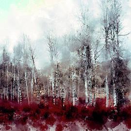 February Shoreline ... by Judy Foote-Belleci