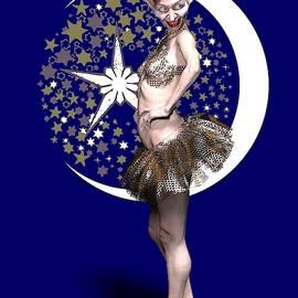 Female elf cabaret dancer by Joaquin Abella