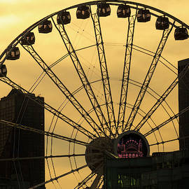 Lindley Johnson - Ferris Wheel Silhouette