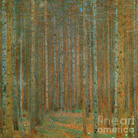Fir Forest I, 1901 by Gustav Klimt