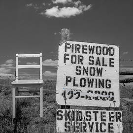 Firewood For Sale / The Chair Project by Dutch Bieber