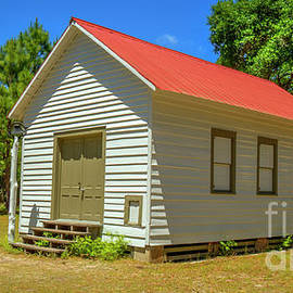 First African Baptist Church Cumberland Island Historic American Art by Reid Callaway