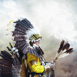 First Nations Chief by Theresa Tahara