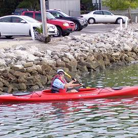 First Time Kayaker by Terry Cobb