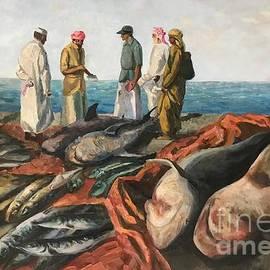 Fish market in Cape Town 2 by Svetlana Schiel