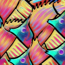 Fish Rainbow  by Marcia Colelli