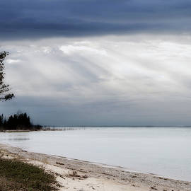 Fishermans Island Michigan by Evie Carrier