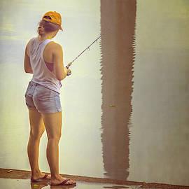 Fishing In Washington Dc II by Joan Carroll