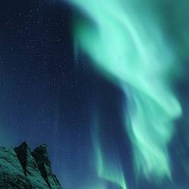 Fjellhorn Nordlys by David Broome