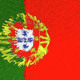 Flag of Portugal - Extruded by Grant Osborne