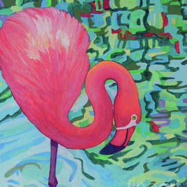 Flamingo DEREK by Sharon Nelson-Bianco