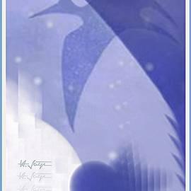 Flight Of The Ghost-bird by Hartmut Jager
