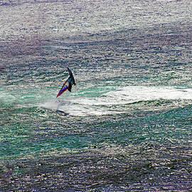 Flipping Windsurfer by Anthony Jones