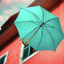 Floating Umbrella  by Carol Japp
