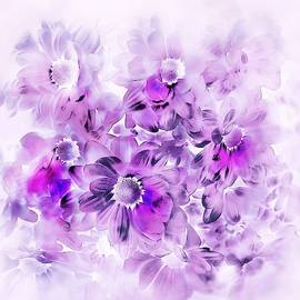Floral Abstract #43 by Slawek Aniol