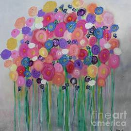 Floral Balloon Bouquet by Kim Nelson