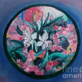 Floral Circle by Christy Saunders Church