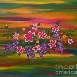 Floral Inspiration #1 by Diamante Lavendar