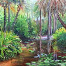Florida Garden by Linda Spencer